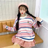 Striped Cupcake Sweater SD00297