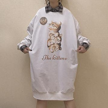 The Kitten Loose Sweater Dress SD00590