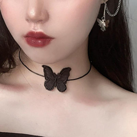 Butterfly Collar SD01276 - SYNDROME - Cute Kawaii Harajuku Street Fashion Store