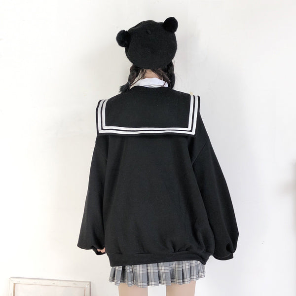 Zipper Sailor Sweater SD00838