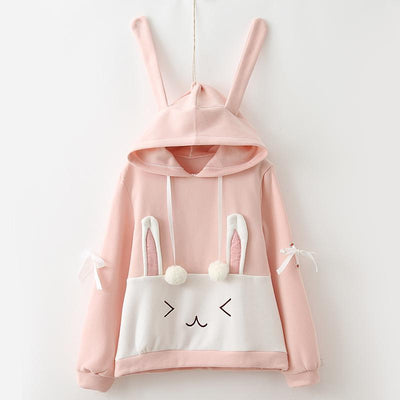 Bunny Sweater Hoodie SD00798 - SYNDROME - Cute Kawaii Harajuku Street Fashion Store
