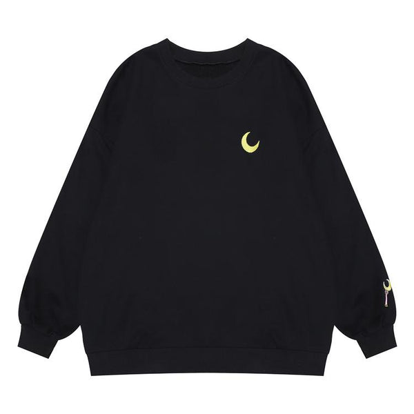 Sailor Moon Staff Embroidered Sleeve Sweater SD00837