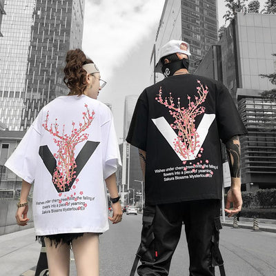 Cherry Blossom Deer Tree SD00866 - SYNDROME - Cute Kawaii Harajuku Street Fashion Store