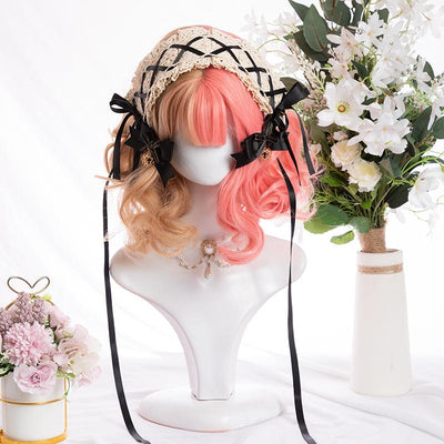 Double Peachy Wig SD00281 - SYNDROME - Cute Kawaii Harajuku Street Fashion Store