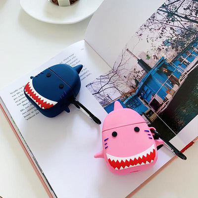 Sharks Airpods Case SD01526 - SYNDROME - Cute Kawaii Harajuku Street Fashion Store