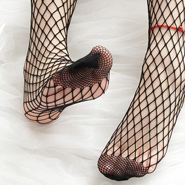 High Tight Ribbon Fishnet Socks SD01171