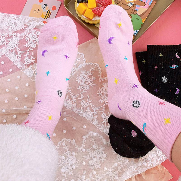 Space Galaxy Socks SD01501