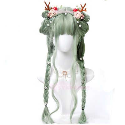 Leaf Gradient Wig SD00312 - SYNDROME - Cute Kawaii Harajuku Street Fashion Store