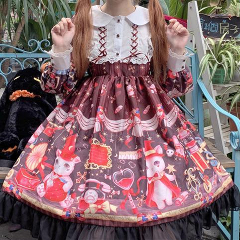 Kawaii Sweet Magic Lolita Dress SSD00963