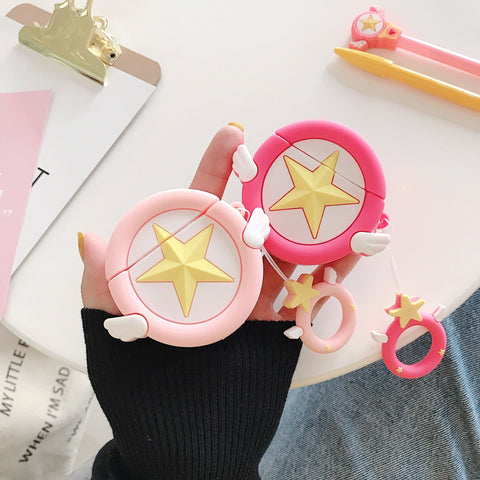 Cardcaptor Sakura Airpods Case SD01255 - SYNDROME - Cute Kawaii Harajuku Street Fashion Store
