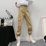 Casual Outside Pocket Pants SD02199 - SYNDROME - Cute Kawaii Harajuku Street Fashion Store