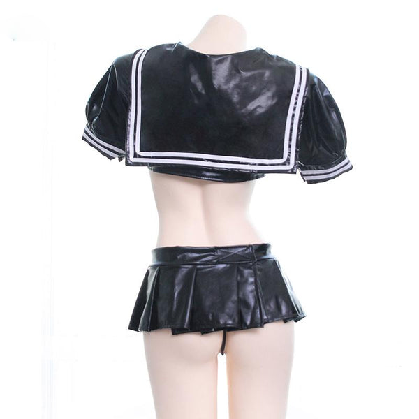 Leather Sexy School Uniform SD00928