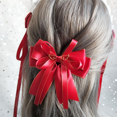 Winged Bow Hair Clip SD01269 - SYNDROME - Cute Kawaii Harajuku Street Fashion Store