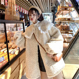Stay Warm Plush Coat SD02037 - SYNDROME - Cute Kawaii Harajuku Street Fashion Store