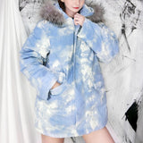 Cloud Winter Coat SD00036 - SYNDROME - Cute Kawaii Harajuku Street Fashion Store