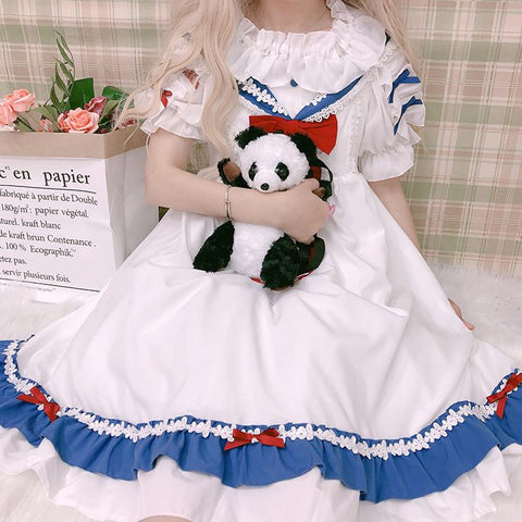 Sailor Chiffon Dress SD00020 - SYNDROME - Cute Kawaii Harajuku Street Fashion Store
