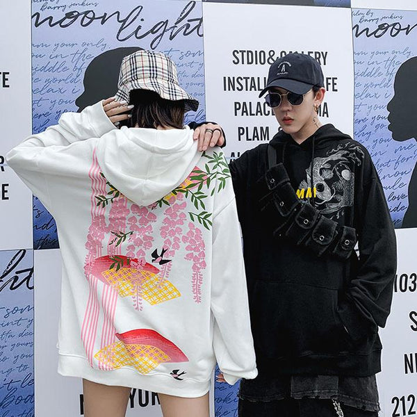 Asia Paradise Hoodie SD00708 - SYNDROME - Cute Kawaii Harajuku Street Fashion Store