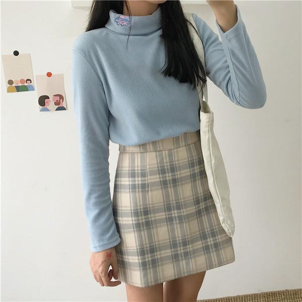 Space Collar Fleece Sweater SD00565