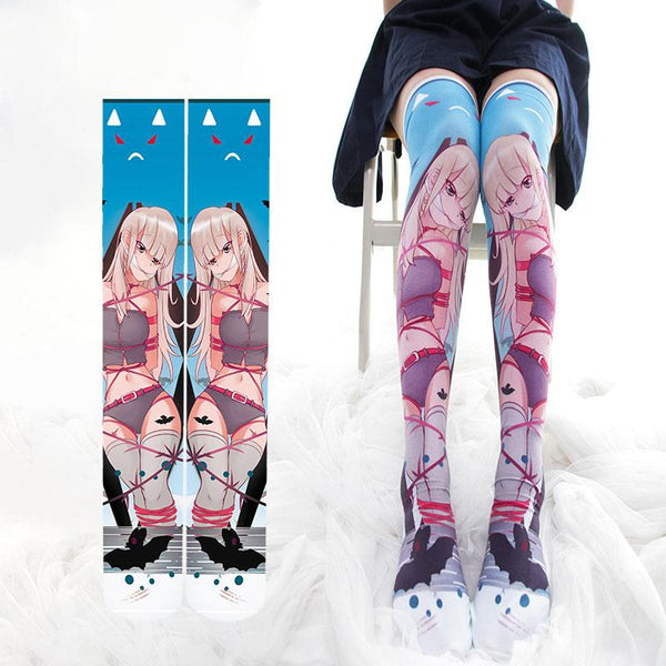 Anime Girl Bondage Thigh High Tights SD01379 - SYNDROME - Cute Kawaii Harajuku Street Fashion Store