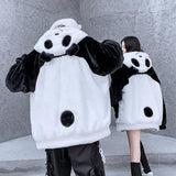 Panda Cow Two Sided Coat SD01582
