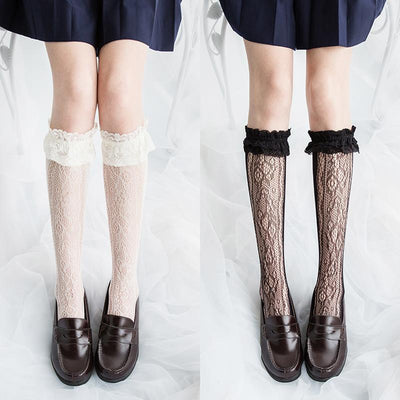 Lace Socks SD01326 - SYNDROME - Cute Kawaii Harajuku Street Fashion Store