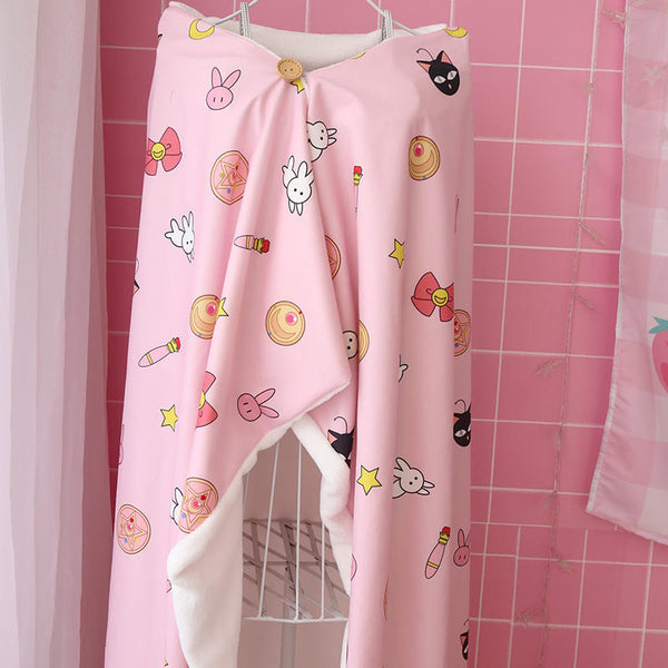 Sailor Moon Shawl And Blanket SD00705