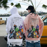 Neko Naruto Gang Hoodie SD00465 - SYNDROME - Cute Kawaii Harajuku Street Fashion Store