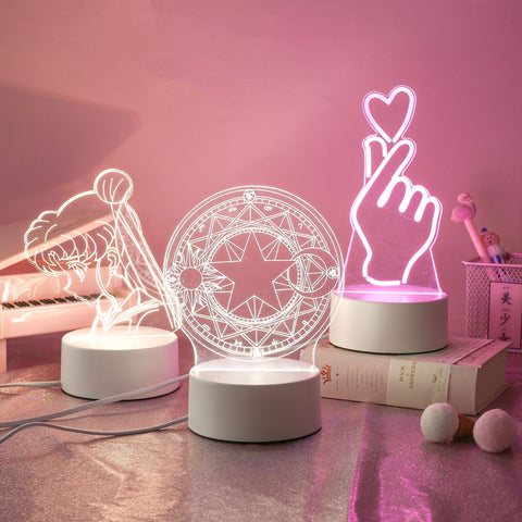 Kawaii Night Lamp Stand SD01945