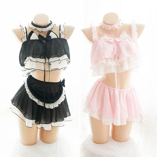 Cat Maiden Lingerie SD00592 - SYNDROME - Cute Kawaii Harajuku Street Fashion Store