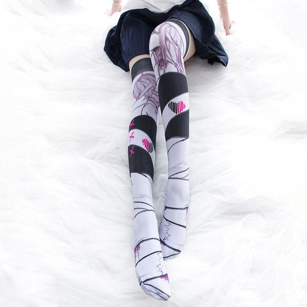 Eternal Love Thigh High Tights SD01759 - SYNDROME - Cute Kawaii Harajuku Street Fashion Store
