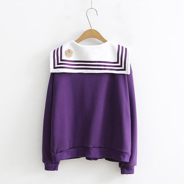 Moon Light Sailor Moon Sailor Sweater SD00830 - SYNDROME - Cute Kawaii Harajuku Street Fashion Store
