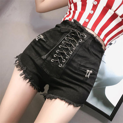 String Me Up Shorts SD00016 - SYNDROME - Cute Kawaii Harajuku Street Fashion Store