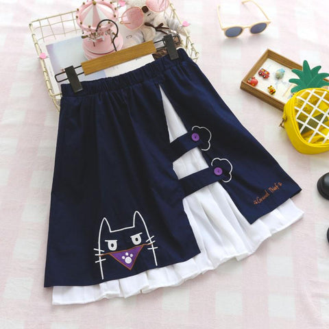 Thief Cat Skirt SD01078