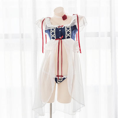 Snow White Night Lingerie SD00079 - SYNDROME - Cute Kawaii Harajuku Street Fashion Store