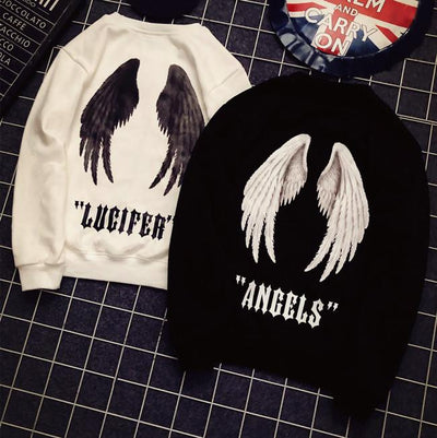 Angels Lucifer Sweater SD00535 - SYNDROME - Cute Kawaii Harajuku Street Fashion Store