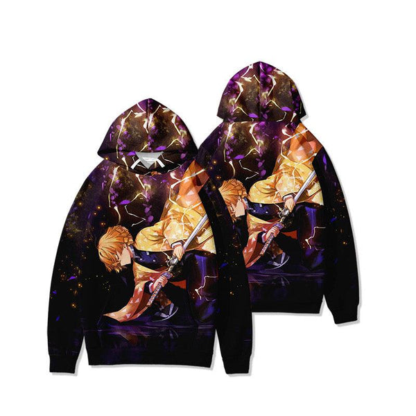 Demon Slayer: Kimetsu no Yaiba Hoodie SD01711 - SYNDROME - Cute Kawaii Harajuku Street Fashion Store