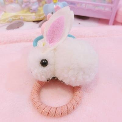 Fluffy Bunny Hair Accessories SD00437 - SYNDROME - Cute Kawaii Harajuku Street Fashion Store