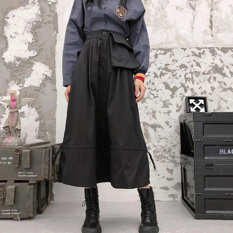 Retro Punk Long skirt SD00647