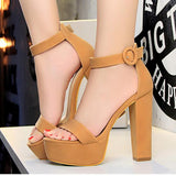 Date Night Open High Heels Sandal Shoes SD00522 - SYNDROME - Cute Kawaii Harajuku Street Fashion Store