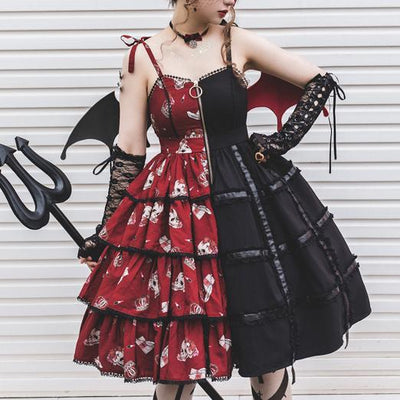 Bird Cage Skull Lolita Dress SD00244 - SYNDROME - Cute Kawaii Harajuku Street Fashion Store