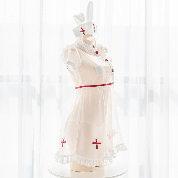 Bunny Transparent Nurse Uniform SD01490 - SYNDROME - Cute Kawaii Harajuku Street Fashion Store