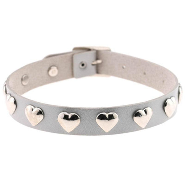 Hearts Buckle Collar SD01346