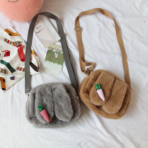 Bunny Ears Carrot Shoulder Bag SD00545 - SYNDROME - Cute Kawaii Harajuku Street Fashion Store