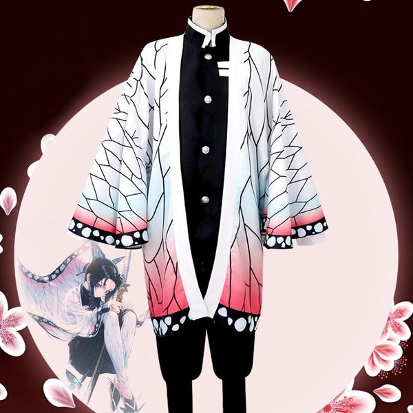 Demon Slayer: Kimetsu No Yaiba Shinobu Kocho Cosplay SD01413 - SYNDROME - Cute Kawaii Harajuku Street Fashion Store