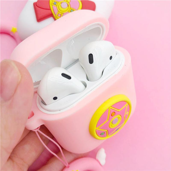 Sailor Moon Bow Pendant Airpod Case SD01530