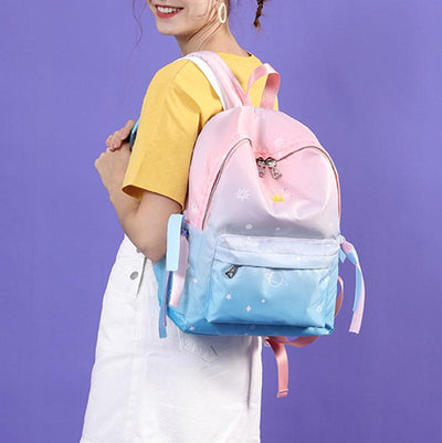 Pastel Planet Star Crown Backpack SD00270 - SYNDROME - Cute Kawaii Harajuku Street Fashion Store