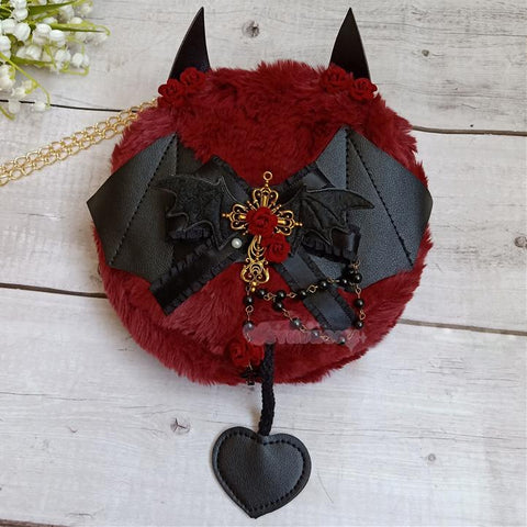 Devil Fluffy Bag SD01545
