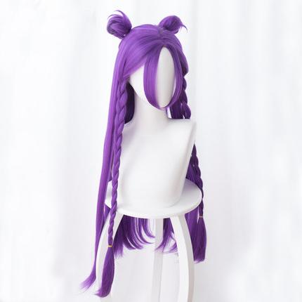 Purple Braid Long Wig SD00508