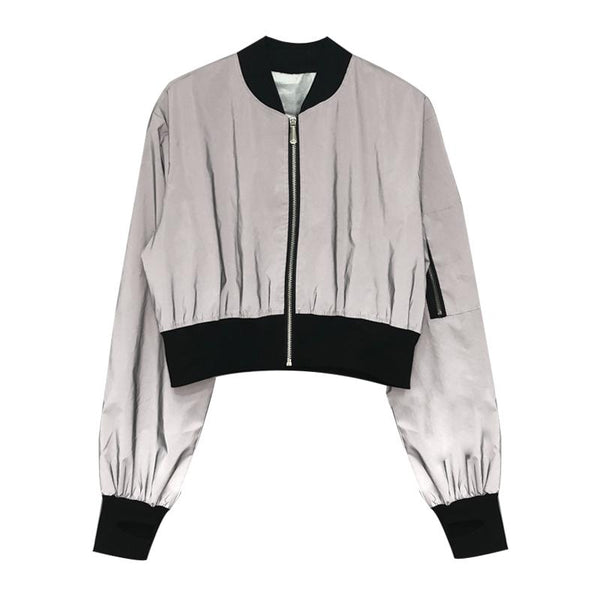 White Reflective Jacket SD01706