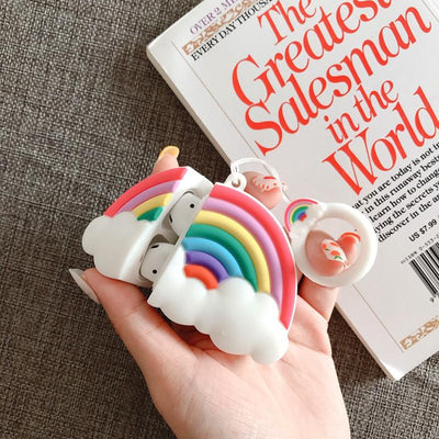 Rainbow Airpods Case SD01528 - SYNDROME - Cute Kawaii Harajuku Street Fashion Store